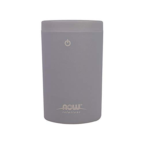 NOW Essential Oils, Portable USB Ultrasonic Aromatherapy Oil Diffuser, Extremely Quiet and Heat Free, Travel Friendly Diffuser