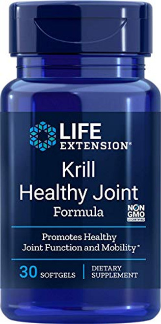 Life Extension Krill Healthy Joint Formula, 30 Softgels
