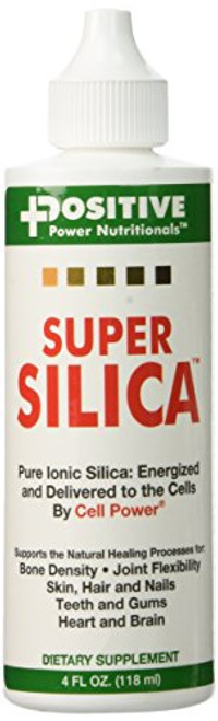 Super Silica Liquid Concentrate, 4 oz. Bottle (Pack of 6) -Highest Absorption, Collagen-Producing, Supports Healthy Bone Density, Joint Flexibility, Skin Hair and Nails, -4 oz. Makes Over 68 quarts