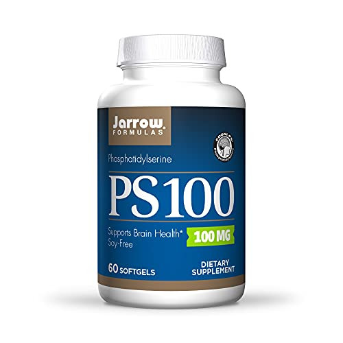 Jarrow Formulas PS 100, Supports Healthy Cognitive Function, 100 mg, 60 Softgels-1610137111