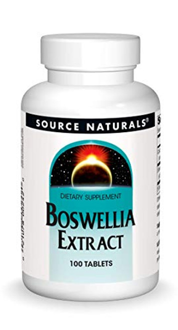 Source Naturals Boswellia Extract Yields 243mg Boswellic Acids - 100 Tablets (2 Pack)