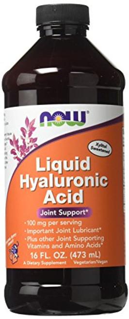 Now Foods Liquid Hyaluronic Acid 100 Milligrams, 16 Ounces-1610747178