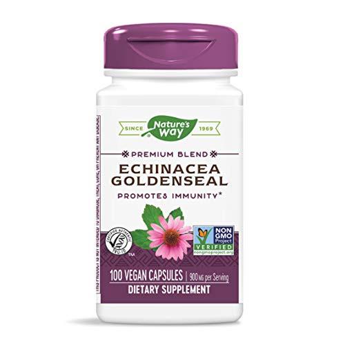 Natures Way, Echinacea Goldenseal Root, 100 Capsules