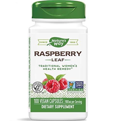Red Raspberry Leaves 480 MG (100 Capsules)