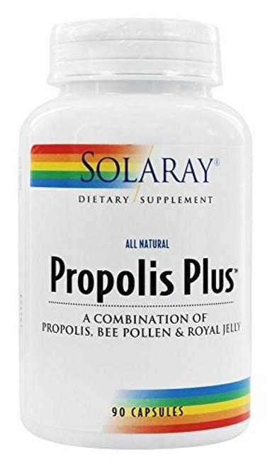 Propolis Plus Solaray 90 VegCaps
