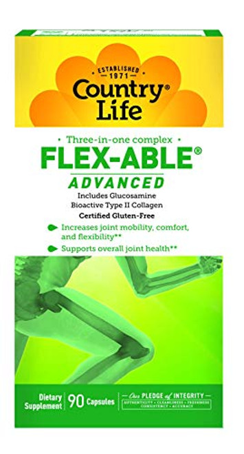 Country Life Flex-Able Advanced Capsules, 90 Count