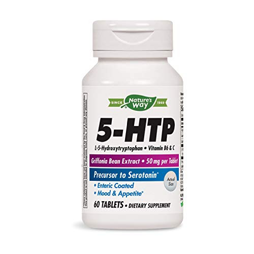 Nature's Way - 5-HTP 50 mg 60 tabs(2 Pack)-1610749507