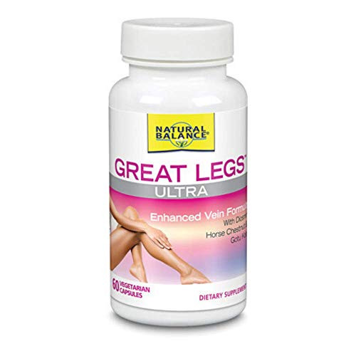 Natural Balance Great Legs Ultra Veg Capsules, 60 Count