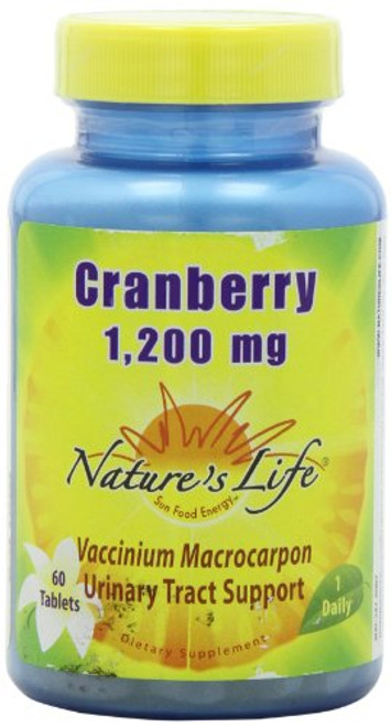 Nature's Life Cranberry Concentrate   60 ct