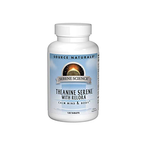 Source Naturals Serene Science Theanine Serene with Relora - Calm Mind & Body - 120 Tablets