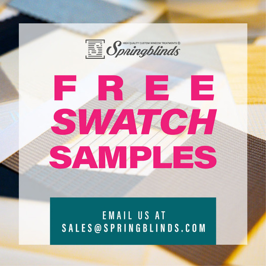 Springblinds offers free samples!
