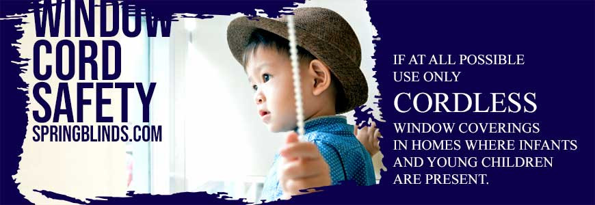 Window Cord Safety: Young Children & Window Cords