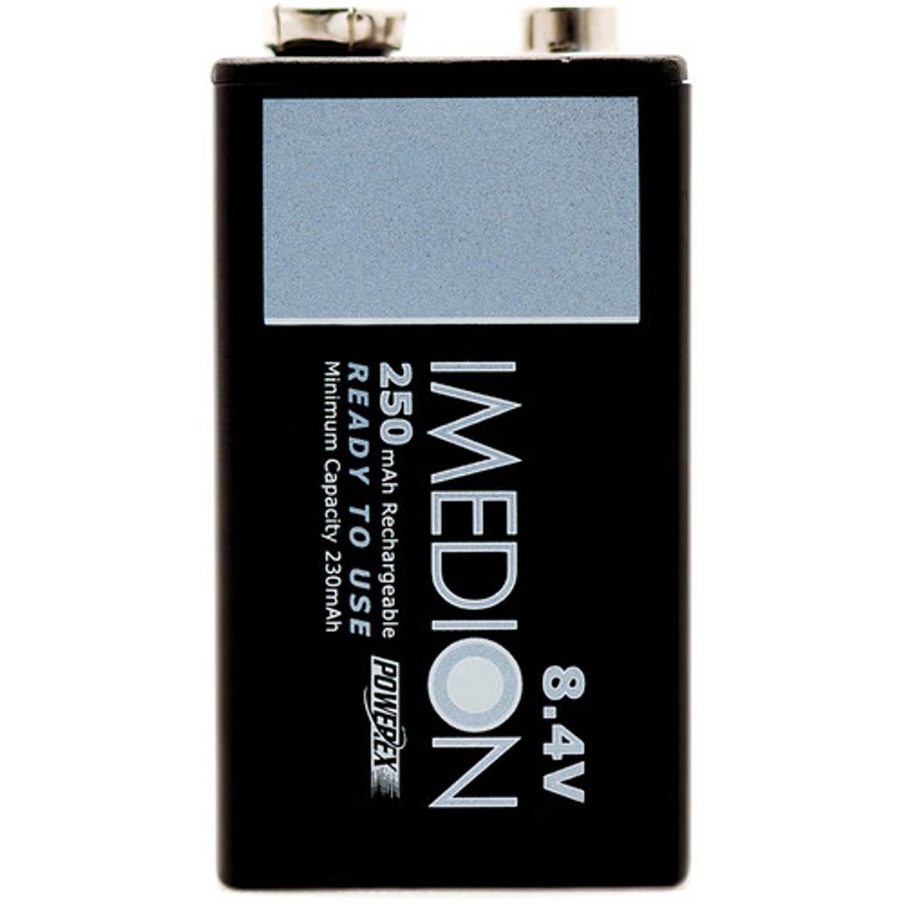 Powerex MHRAAAI4 Imedion AAA 950mAh 4-Pack Rechargeable Batteries