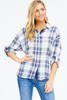 Plaid Cotton Top