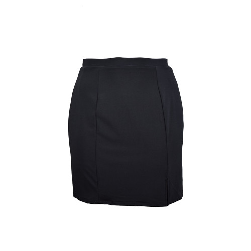 BePear Midi Pencil Skirt - Black