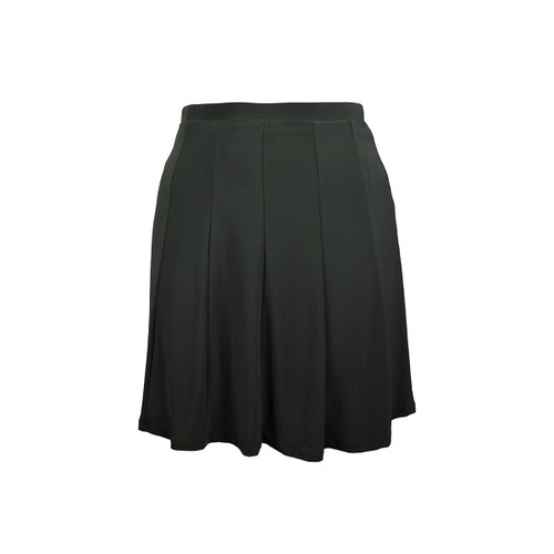 BePear Midi Panel Skirt - Olive
