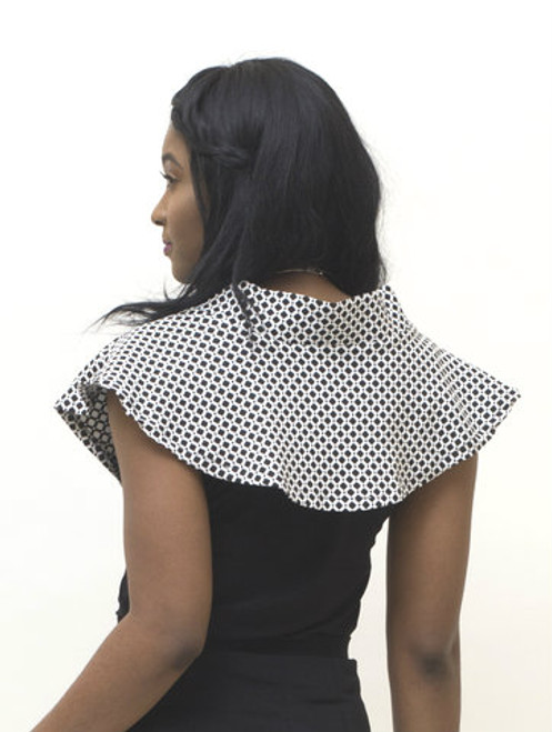 Looks great combined with the BePear black top and black skirts.