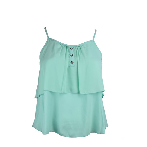 Fresh Mint Sleeveless Top