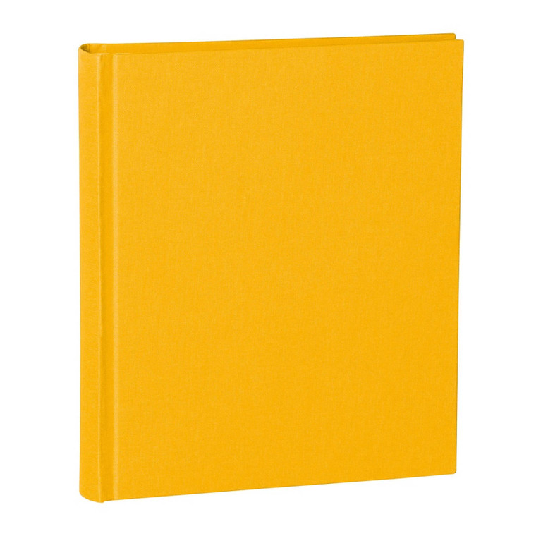 SEMIKOLON Classic Photo Album Medium with linen binding, Sun