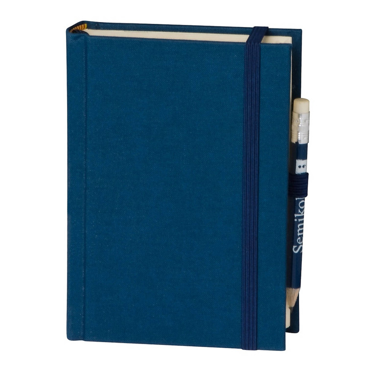 Marine Petit Voyage Journal Notebook with watermarked paper