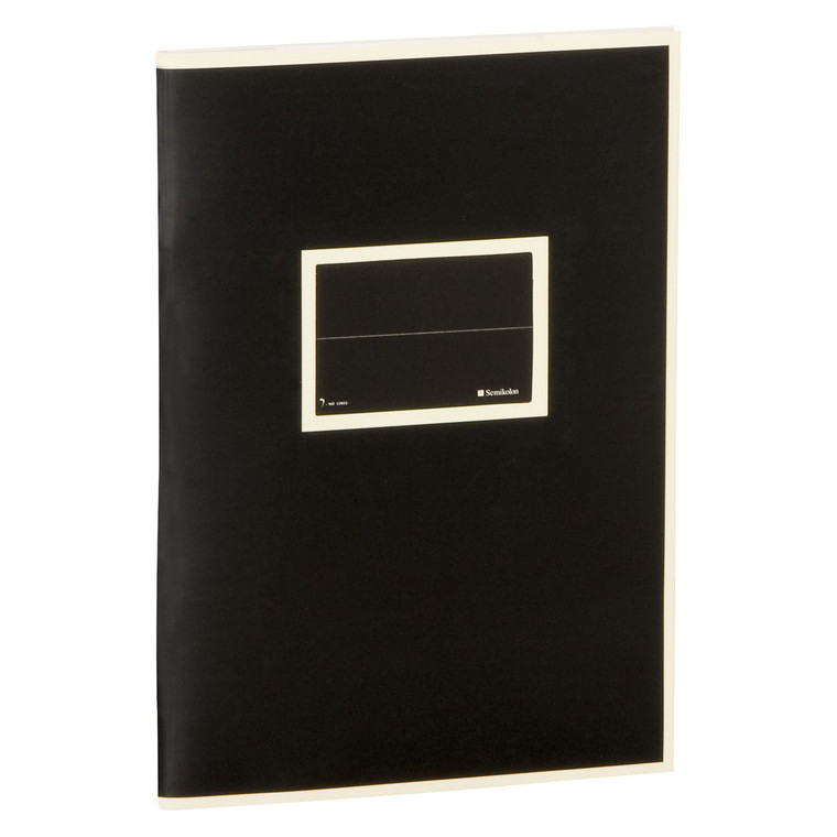 Black Exercise Book A5 Lined