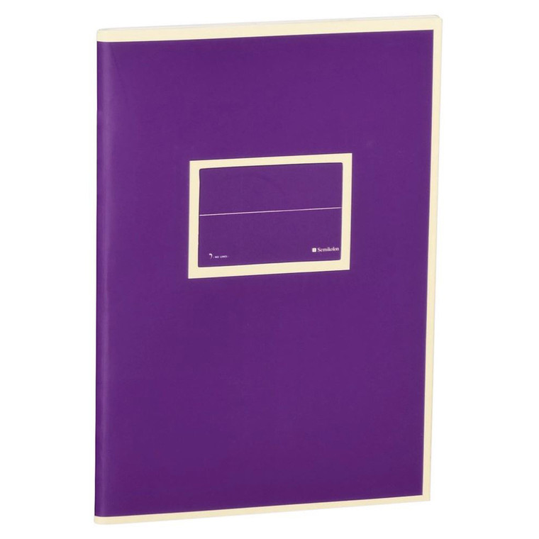 Plum Exercise Book A5 Lined