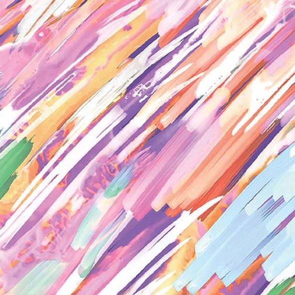 Brush Strokes Multi-color
