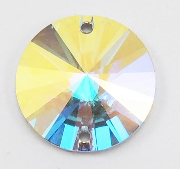 3200 Rivoli 14mm Crystal AB (sold individually)