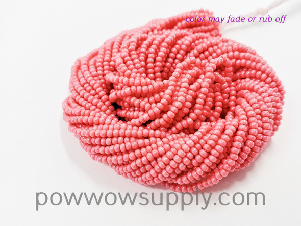 11/0 Seed Beads Opaque Hibiscus (tint)