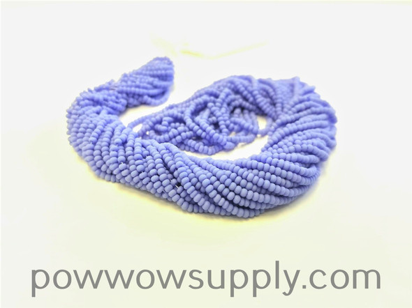 11/0 Seed Beads Opaque Matte Dark Periwinkle