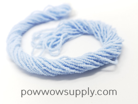 16/0 Seed Beads Opaque Periwinkle