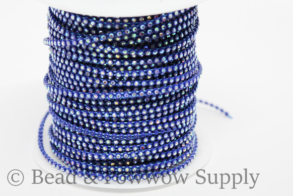 Chinese SS6 Navy Blue/Crystal AB