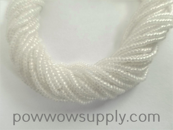 11/0 Seed Beads Transparent AB Matte Crystal