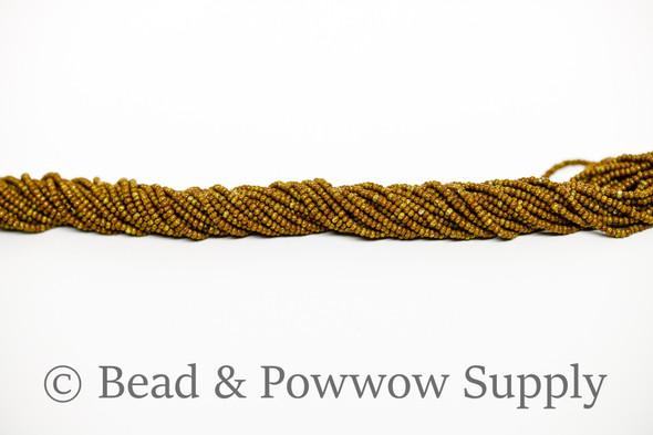 11/0 Seed Beads Travertine Periwinkle