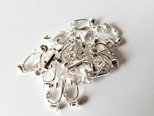 Earring Converter Silver-Plate (12 Pairs)
