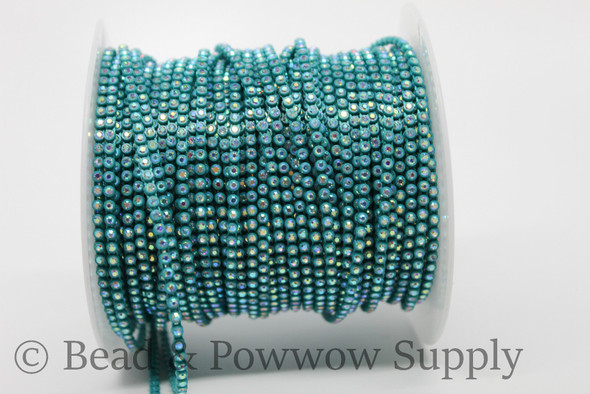 Chinese SS6 Turquoise-Crystal AB
