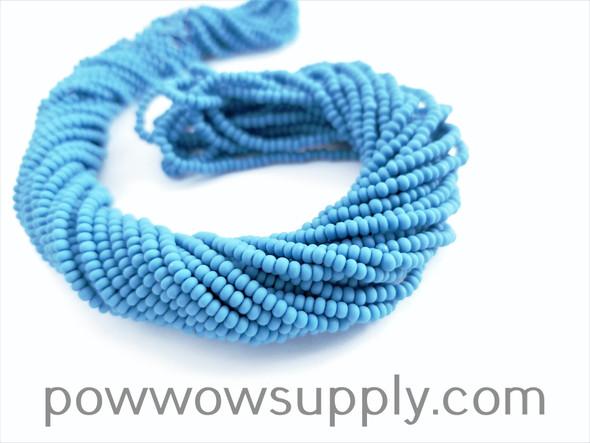 11/0 Seed Beads Opaque Matte Slate Blue