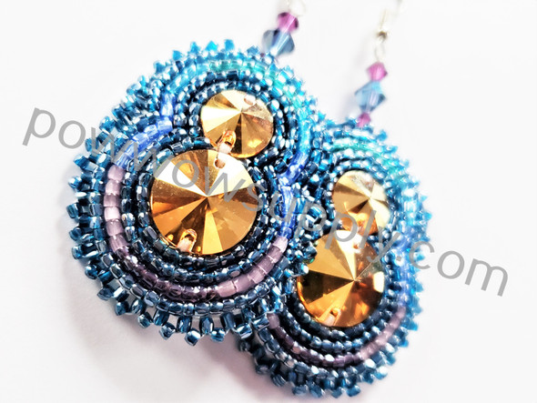Montana Blue Sunshine Earrings