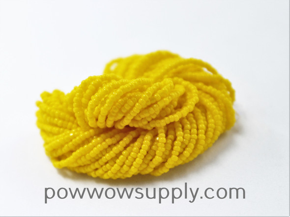 15/0 Charlottes Opaque Golden Yellow