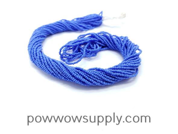 16/0 Seed Beads Opaque Light Blue