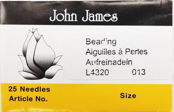 Size 13 Beading Needles (25 pc)