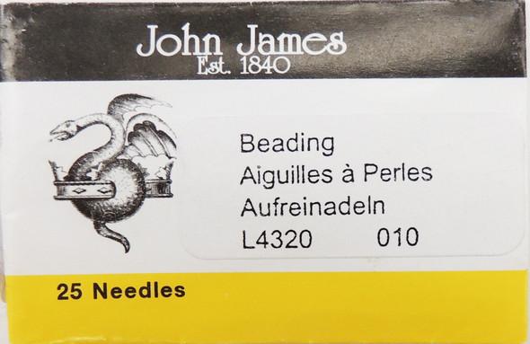 Size 10 Beading Needles (25 pc)