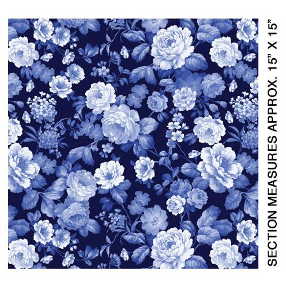 Fleur de Jardin Blue