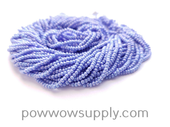 11/0 Seed Beads Opaque AB Dark Periwinkle