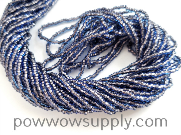 11/0 Seed Beads Sapphire-Copper Lined
