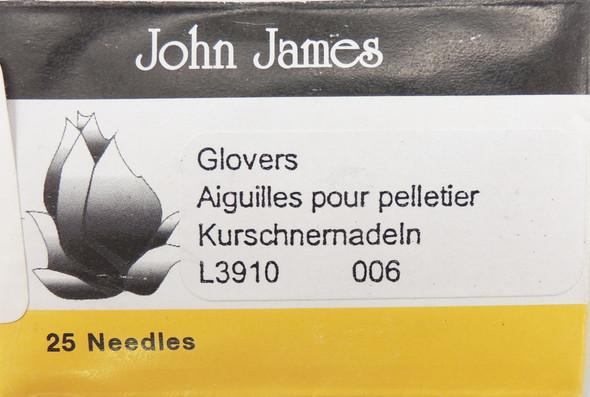 Size 6 Glovers Needles (25 pc)