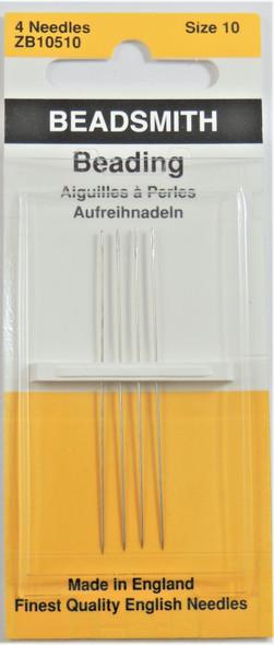 Size 10 Beading Needles (4 pack)