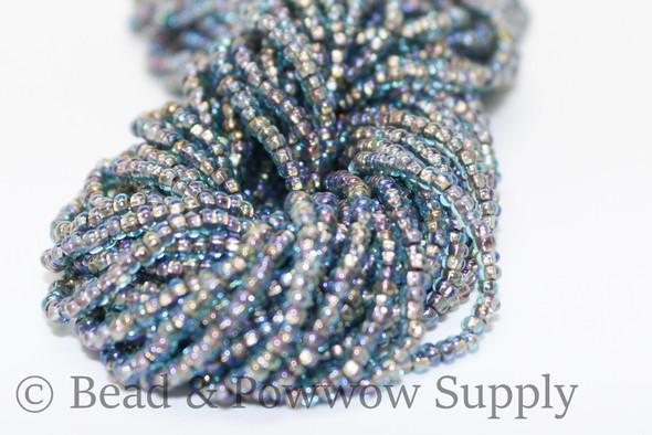 11/0 Seed Beads Copper Lined Aqua AB