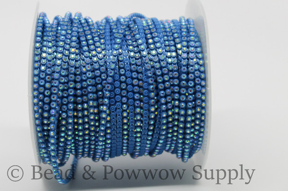 Chinese SS6 Teal Blue/Crystal AB