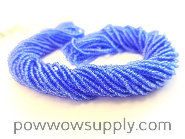 10/0 Seed Beads Transparent Light Sapphire